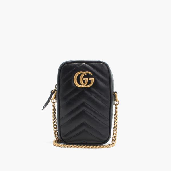 Gucci GG marmont long nero
