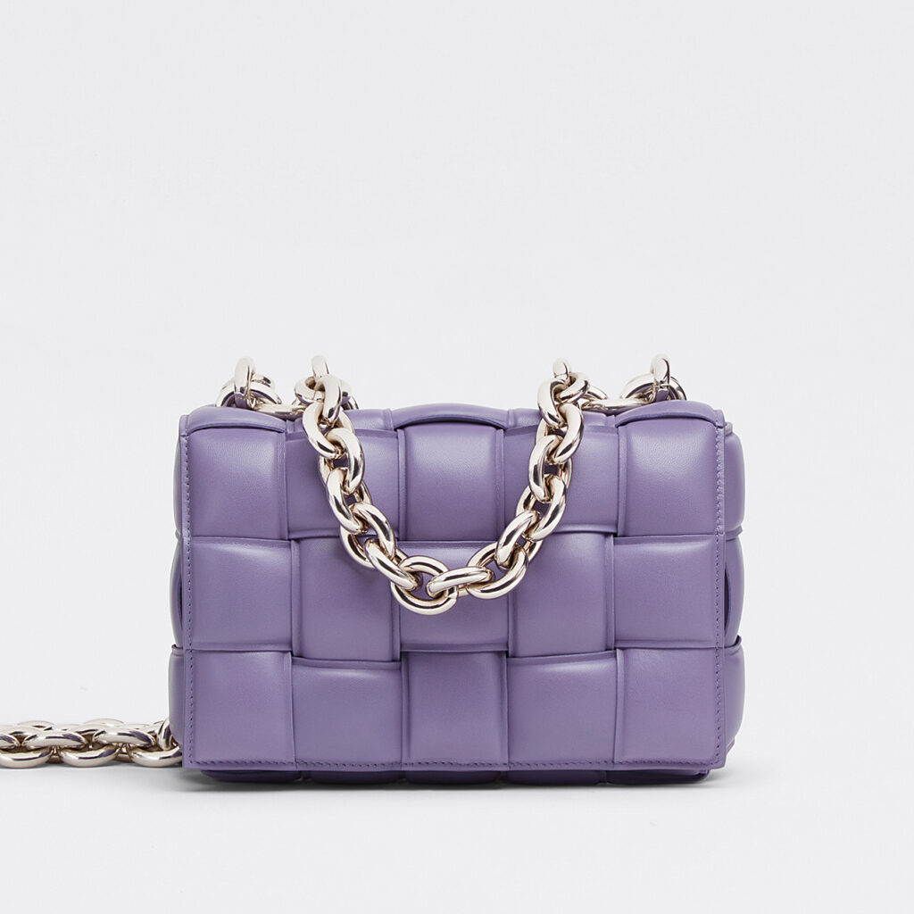 Bottega Veneta - The Chain Cassette Lavender