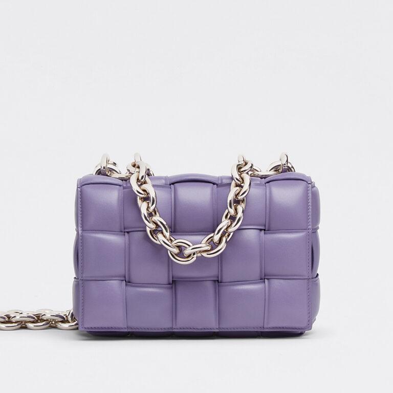 Bottega Veneta - The Chain Cassette Lavender