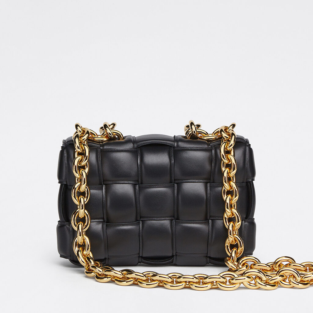 Bottega Veneta - The Chain Cassette Black
