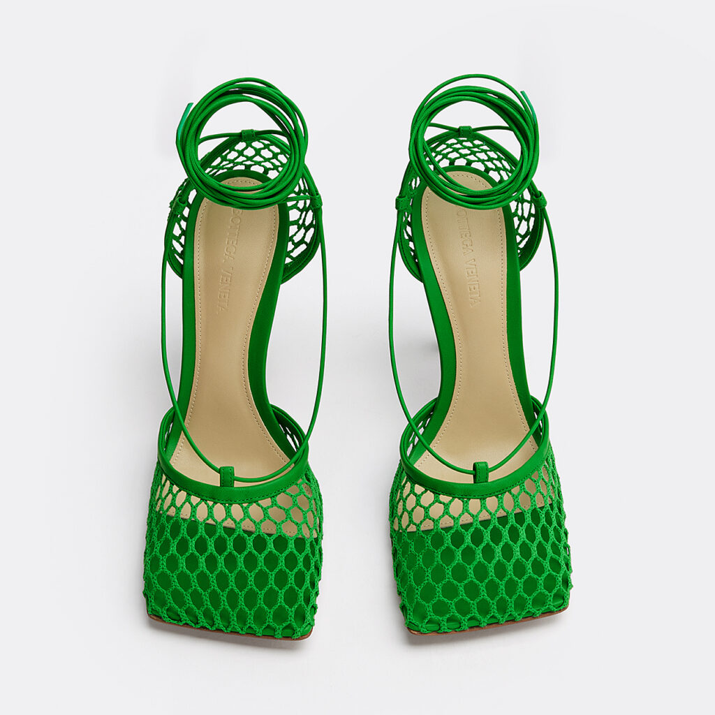 Bottega Veneta The Stretch Sandal Grass