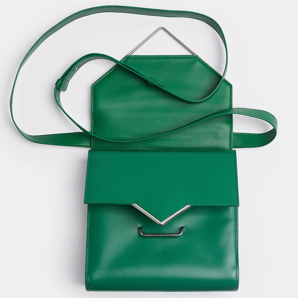 Bottega Veneta - The Clip Racing Green