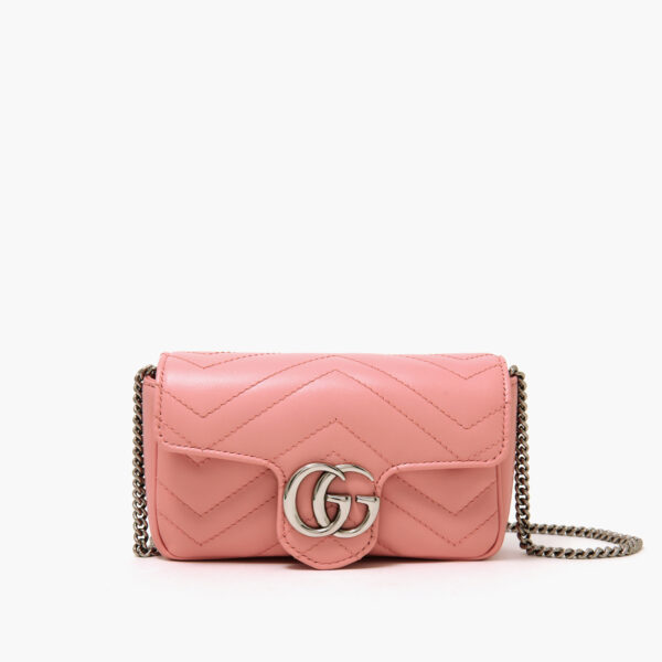 GG Marmont Super Mini Bag Pastel Pink