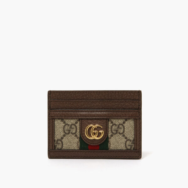 Gucci Cardholder gg brown