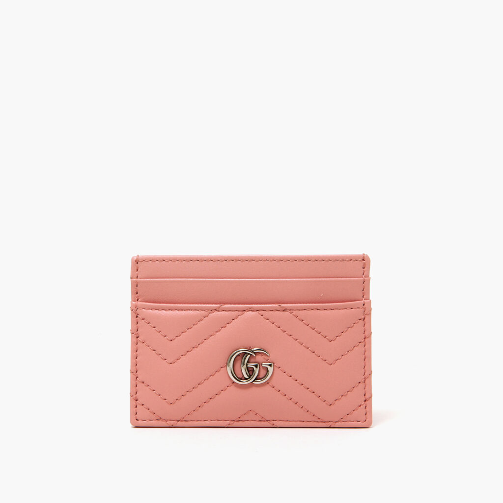 Gucci GG cardcase marmont pastel pink