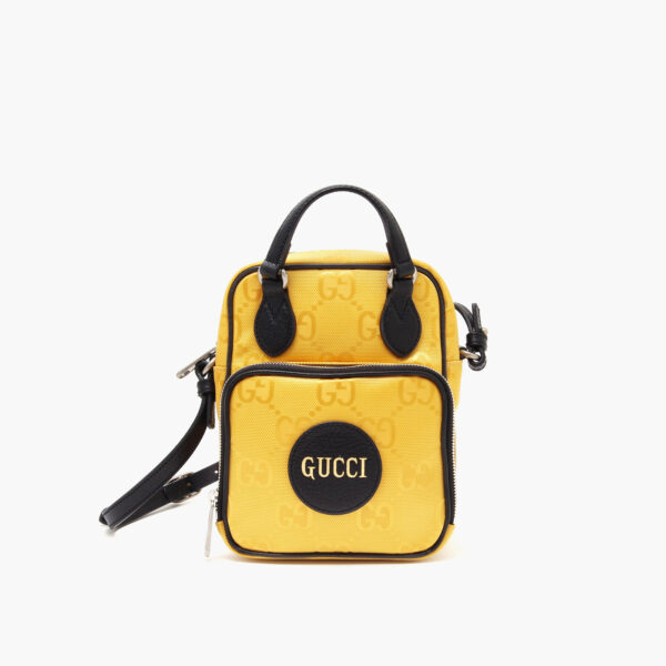 Off the grid shoulder bag yellow