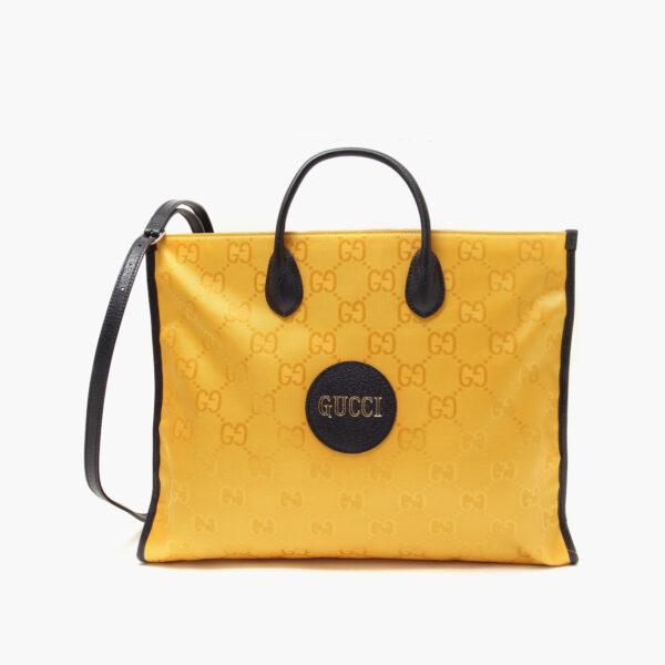 Off the grid tote bag yellow 630353H9HAN7673