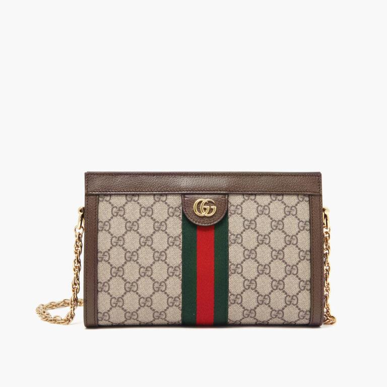 Ophidia Small Shoulder Bag GG Supreme 503877K05NG8745