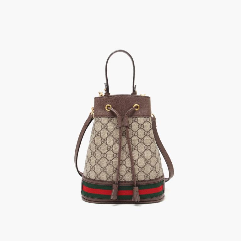 Ophidia small GG bucket bag supreme 55062196I3B8745