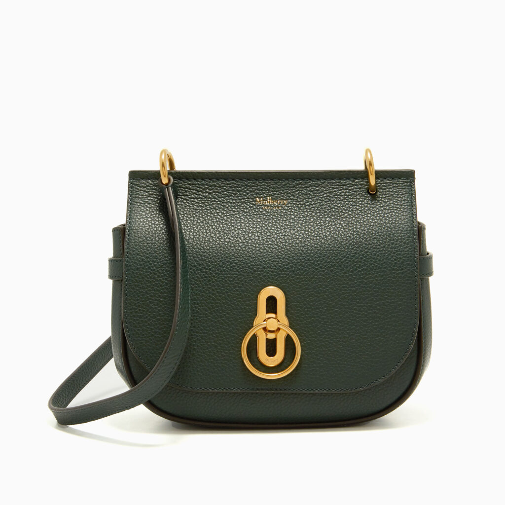 small amberley satchel mulberry green