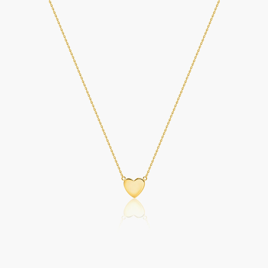 Sophie by Sophie - Mini heart necklace gold
