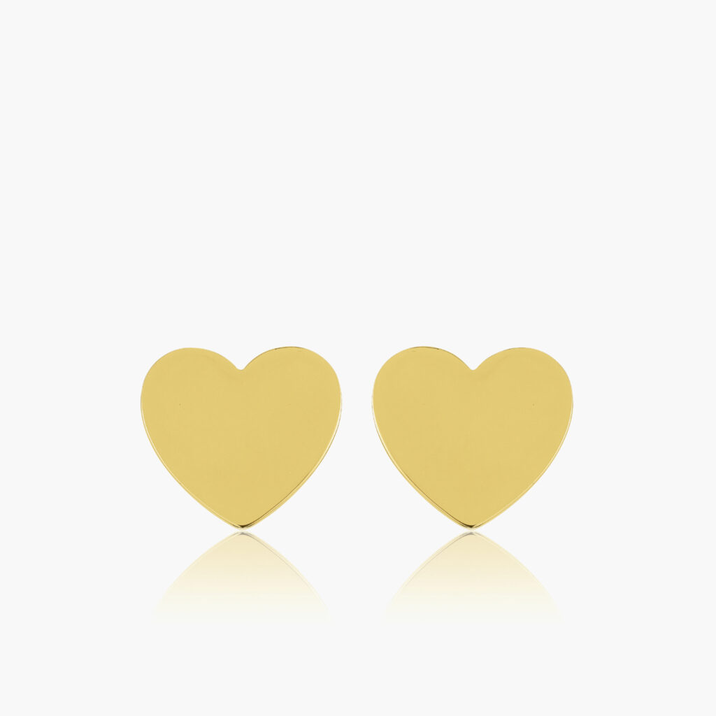 Sophie by Sophie - Heart mini studs gold