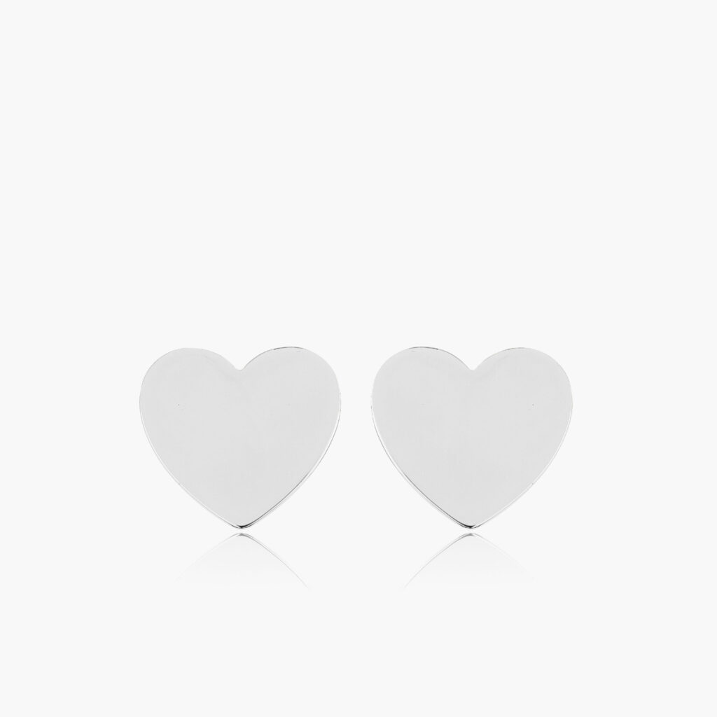 Sophie by Sophie - Heart mini studs silver