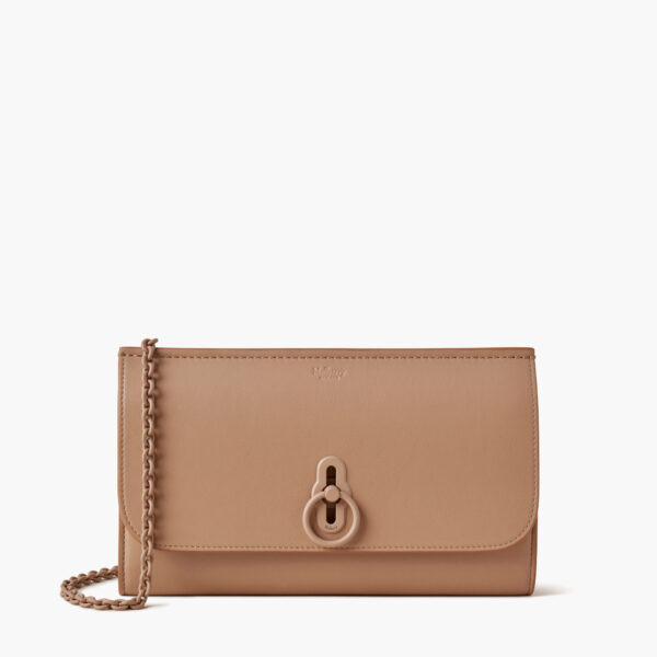 mulberry amberley clutch light salmon