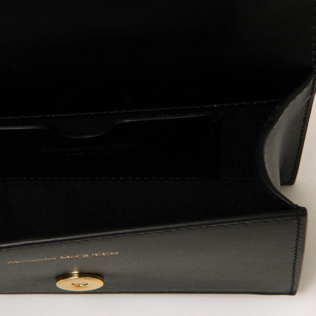 Alexander McQueen Jewelled Satchel Black