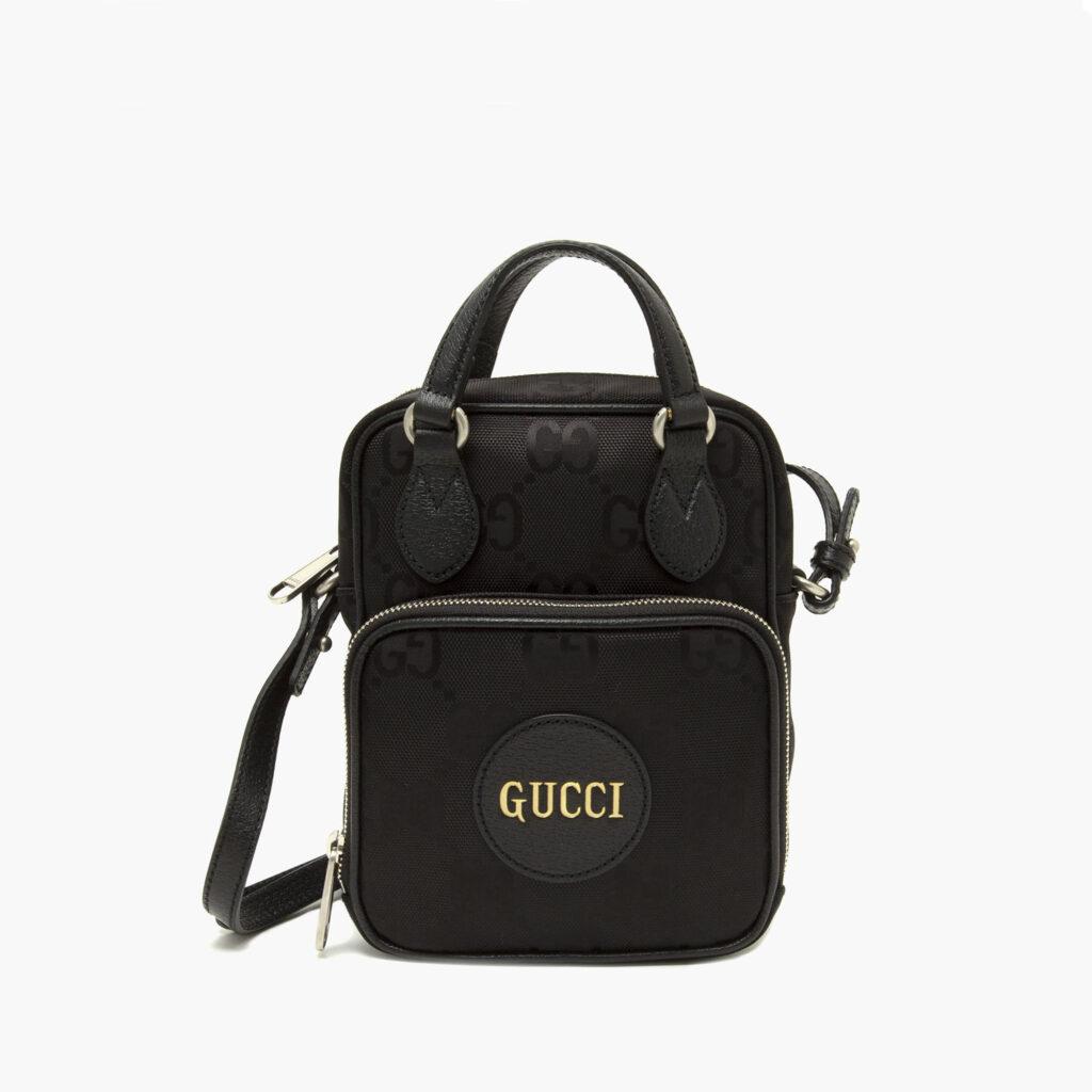 Gucci shoulder Bag Black top handles