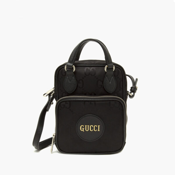 Gucci shoulder Bag Black top handles