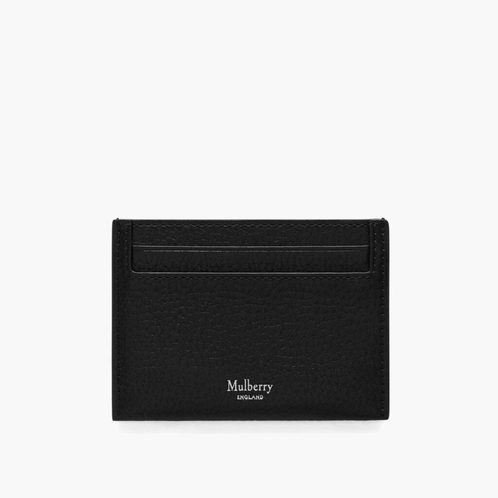 Mulberry svart korthållare